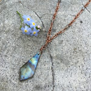 Copper Labradorite Necklace